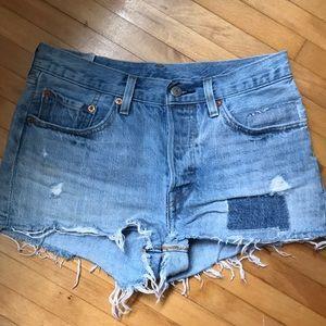 Levi's Light Denim Shorts